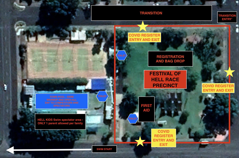 Festival of Hell Race Precinct